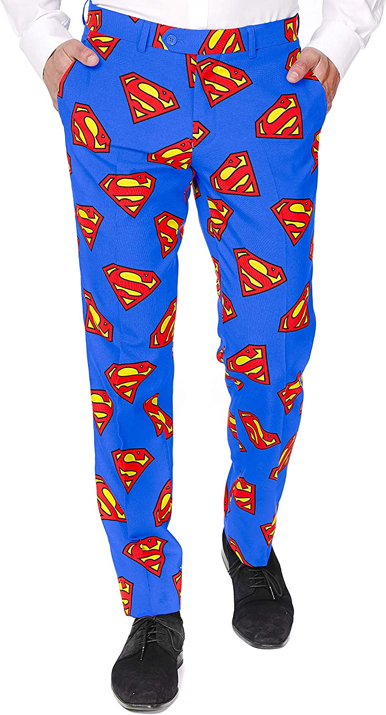 OppoSuits Traje Superman Hombre S / M (48): Amazon.es: Juguetes y ...