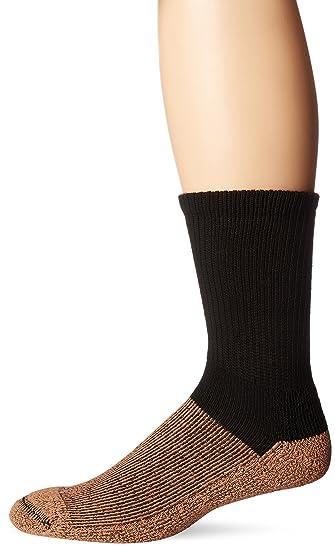 23df2a4afada Copper Sole Men's Pro Therapy Cupron Crew Socks: Amazon.ca: Clothing &  Accessories