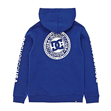 DC Circle Star Zip Hoody Age 11-12 Sodalite Blue