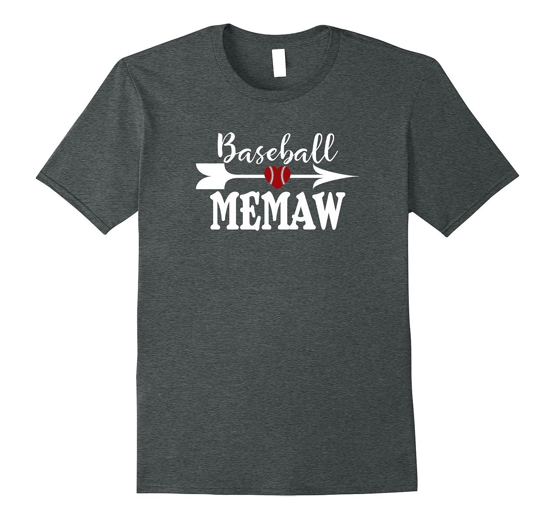 Baseball MEMAW Tshirt Proud Grandma Mothers Day Birthday Gif