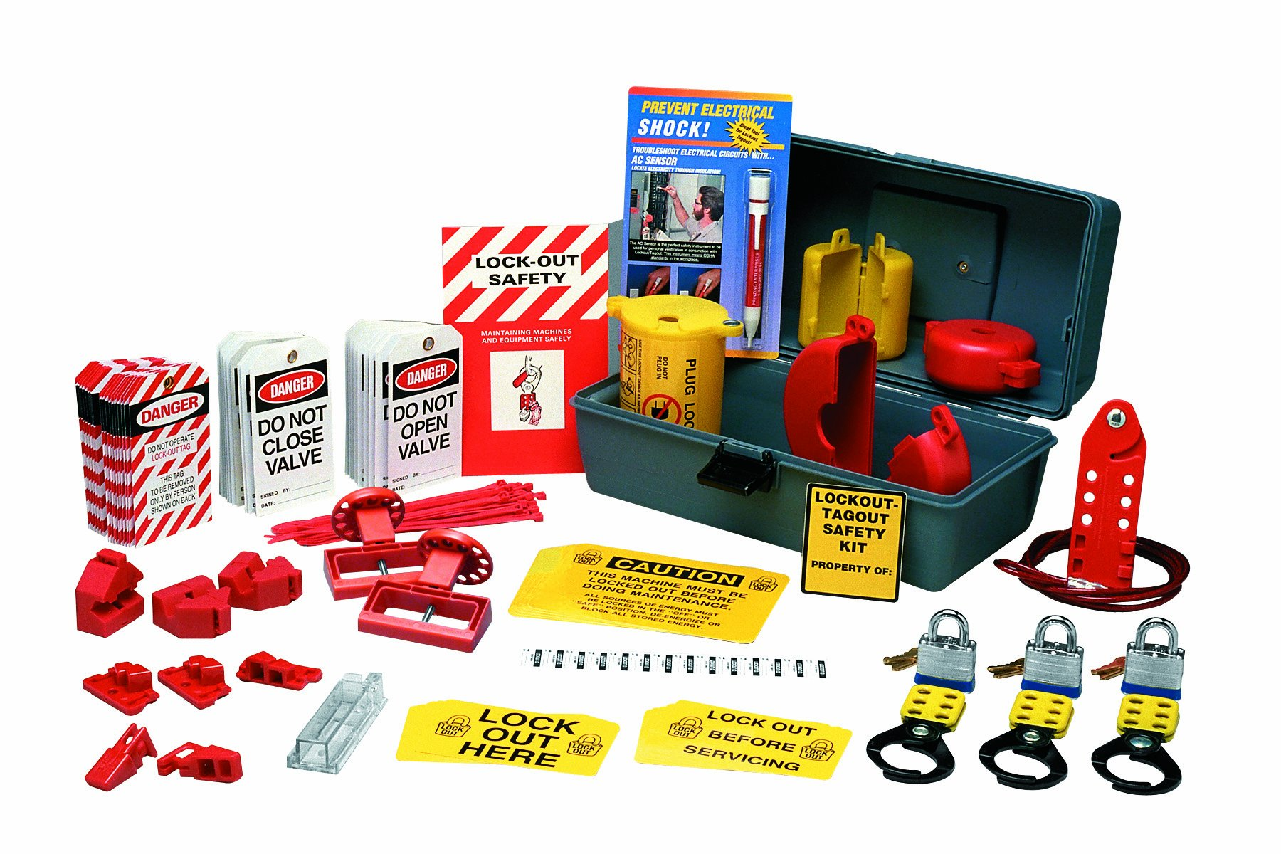 Brady LKXD Prinzing Deluxe Lockout Kit (1 Kit)