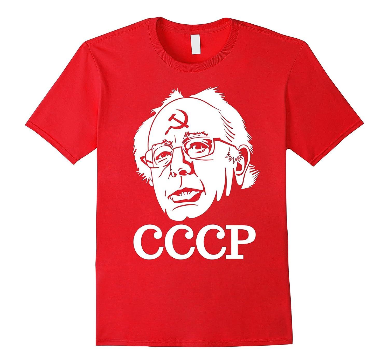 Anti Bernie Sanders CCCP Russian Communist Funny T-Shirt-BN