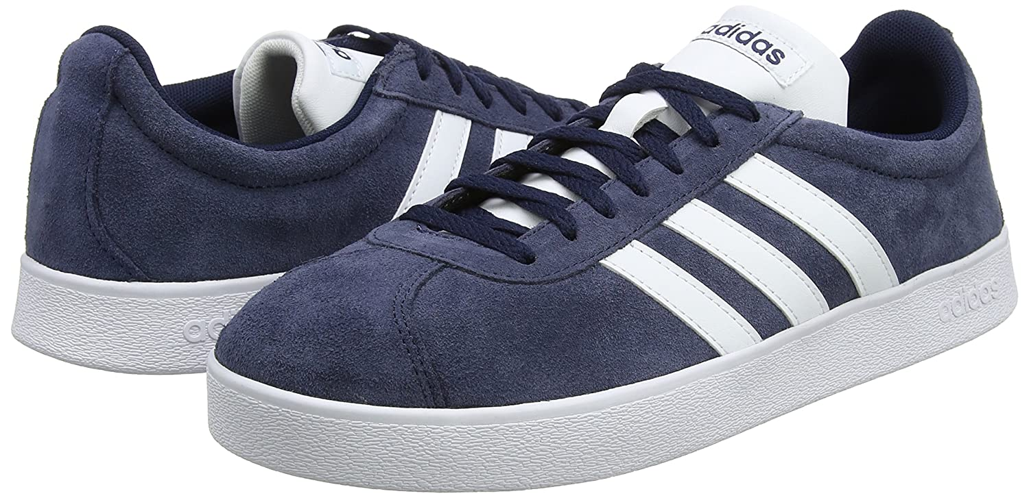 low priced ce756 84374 adidas Mens Vl Court 2.0 Fitness Shoes Amazon.co.uk Shoes  B
