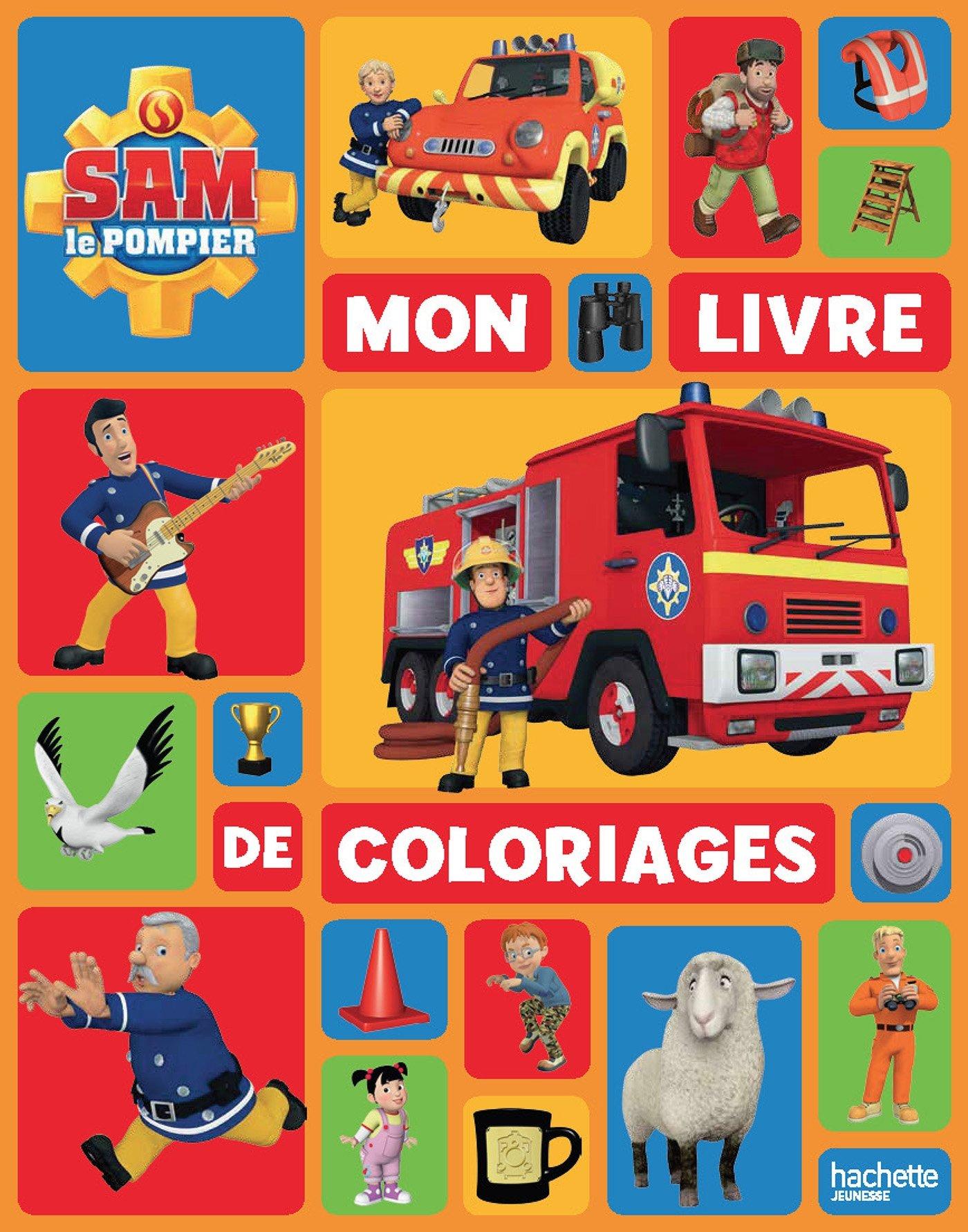 Impressionnant Dessin A Colorier Sam Le Pompier