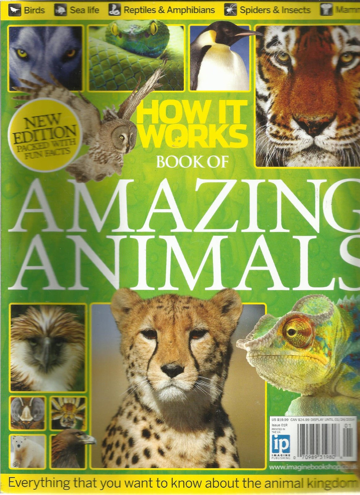 HOW IT WORKS BOOKS OF AMAZING ANIMALS, ISSUE, 2014 ISSUE 01R NEW EDITION