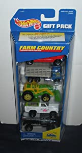 Hot Wheels Farm Country - 5 Vehicle Gift Pack 1996