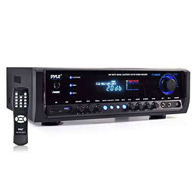 Wireless Bluetooth Power Amplifier System 300W 4 Channel Home Theater Audio Stereo Sound Receiver Box Entertainment
