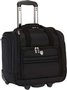 "Travelers Club 16"" Under Seat Carry-On, Black, 16 Inch"