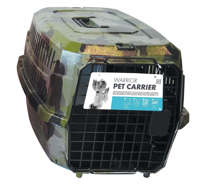 MPETS Warrior Jaula de Transporte para Perro: Amazon.es: Productos ...
