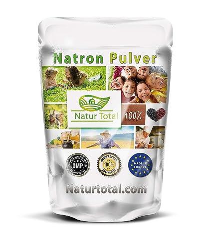 Natron Pulver 1Kg Lebensmittelqualität: Natriumhydrogencarbonat NaHCO3 Natriumbicarbonat E500 Backsoda (1000g) Natrium Fussba