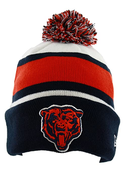 7979e5a6530 Image Unavailable. Image not available for. Color  Chicago Bears On-Field  Classic Sport Knit Hat