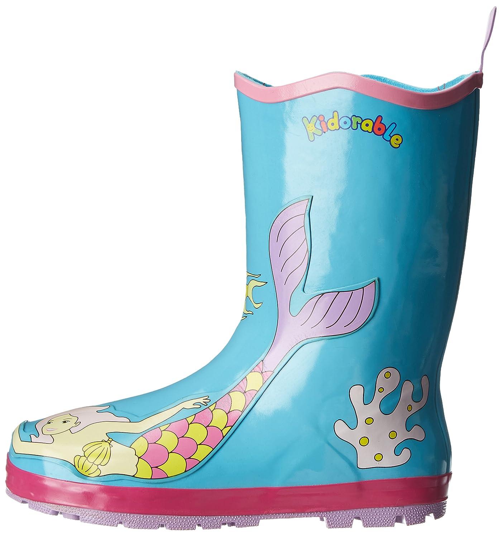 Kidorable Original Gebrandmarkt Gummistiefel / Regen Stiefel Meerjungfrau für Jungen & Mädchen EU 22 TvH1PcjgXk