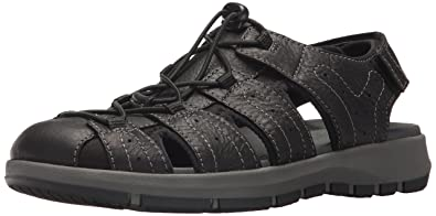 db58b7730258 Amazon.com  CLARKS Men s Brixby Cove Fisherman Sandal  Clarks  Shoes