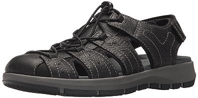 324ae2ba4fd Amazon.com  CLARKS Men s Brixby Cove Fisherman Sandal  Clarks  Shoes