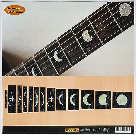 Pegatinas adhesivas para guitarra y bajo con incrustaciones de ...