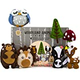 Kids Sewing Kit: Woodland Animal Crafts for Girls and Boys Educational Sewing for Kids Art Craft Kits for Girls