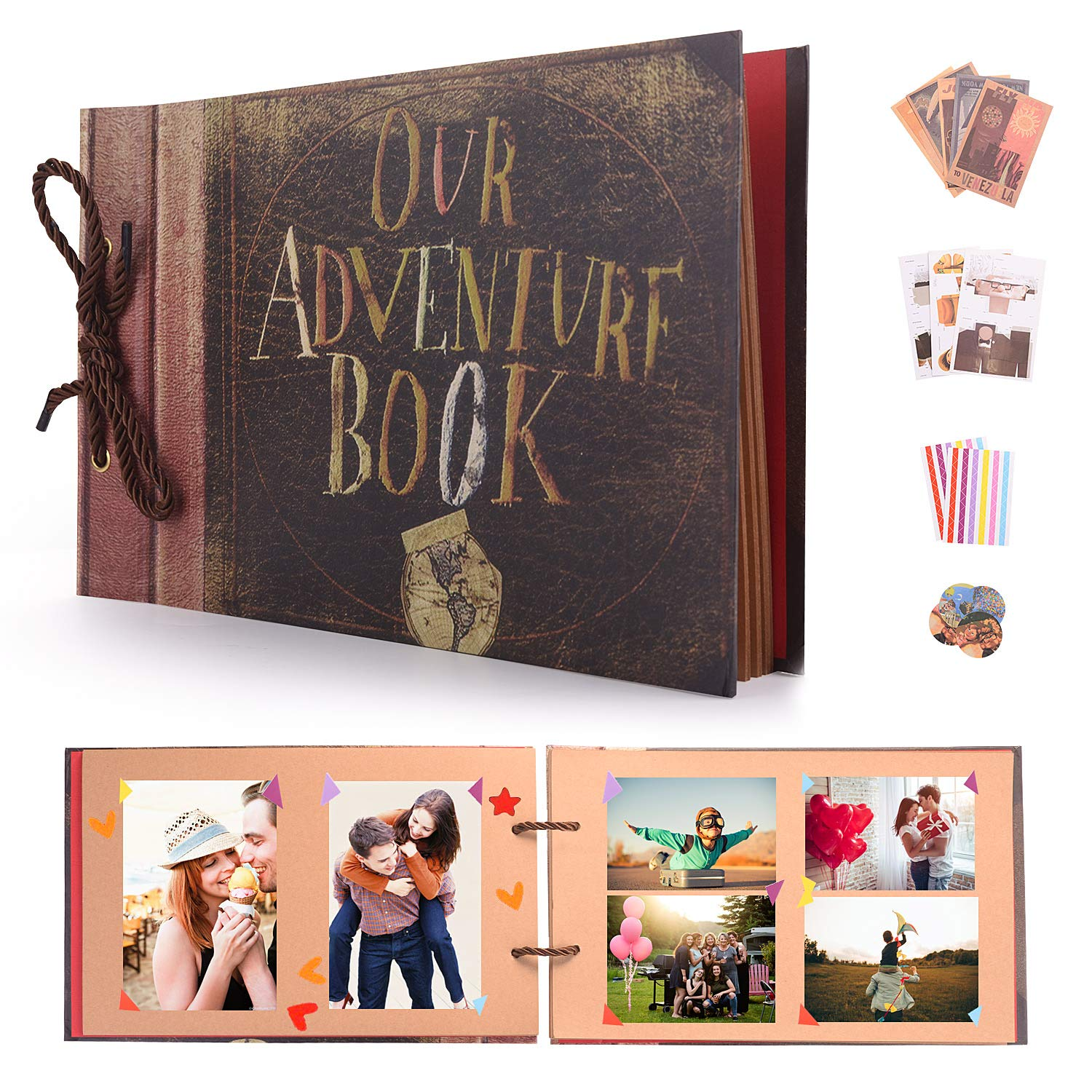 """birthday Personalised guestbook photo album 36 x 6x4/"""" my 15th year memory book"""
