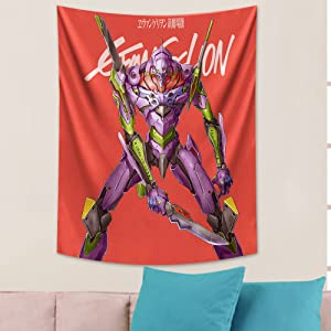 Evangelion TapestryAnime Wall Tapestry for Birthday Gift Party Bedroom Decoration 50x60in