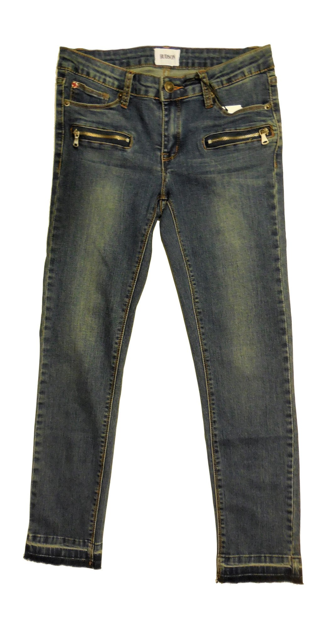 HUDSON Kids Girl's Straight Ankle Skinny Jean with