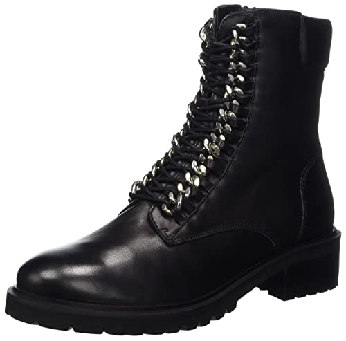 online store 1a738 a17f7 SPM Damen Loes Ankle Combat Boots