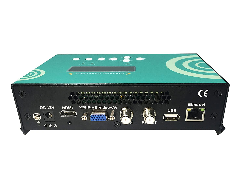 DTVANE Home Use MINI HDMI VGA to DVB-C Modulator with H.264 Encoding ...