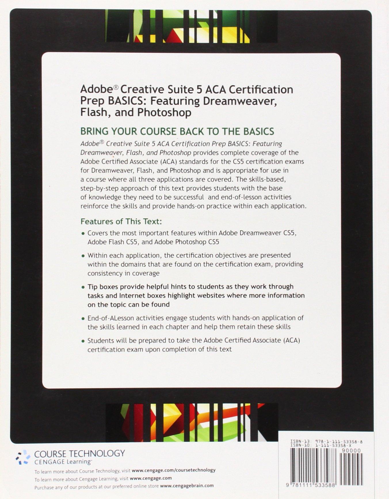 Adobe Creative Suite 5 Aca Certification Preparation Featuring