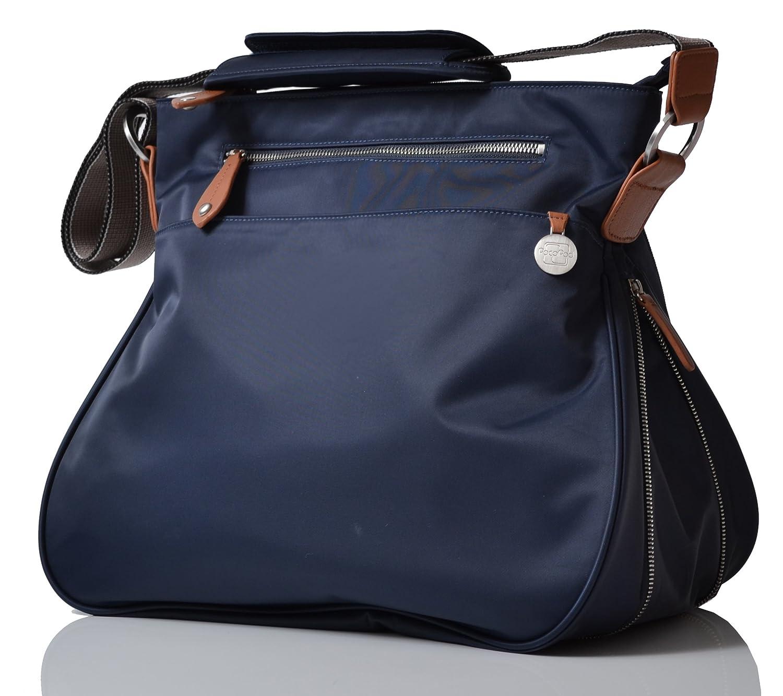 PacaPod Portland Navy Designer Baby Changing Bag - Unisex Luxury Blue 3 in 1 Organising System PP:0137