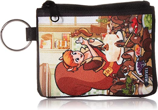 Buckle-Down Womens Canvas Coin Purse Harry Potter 4.25 x 3.25