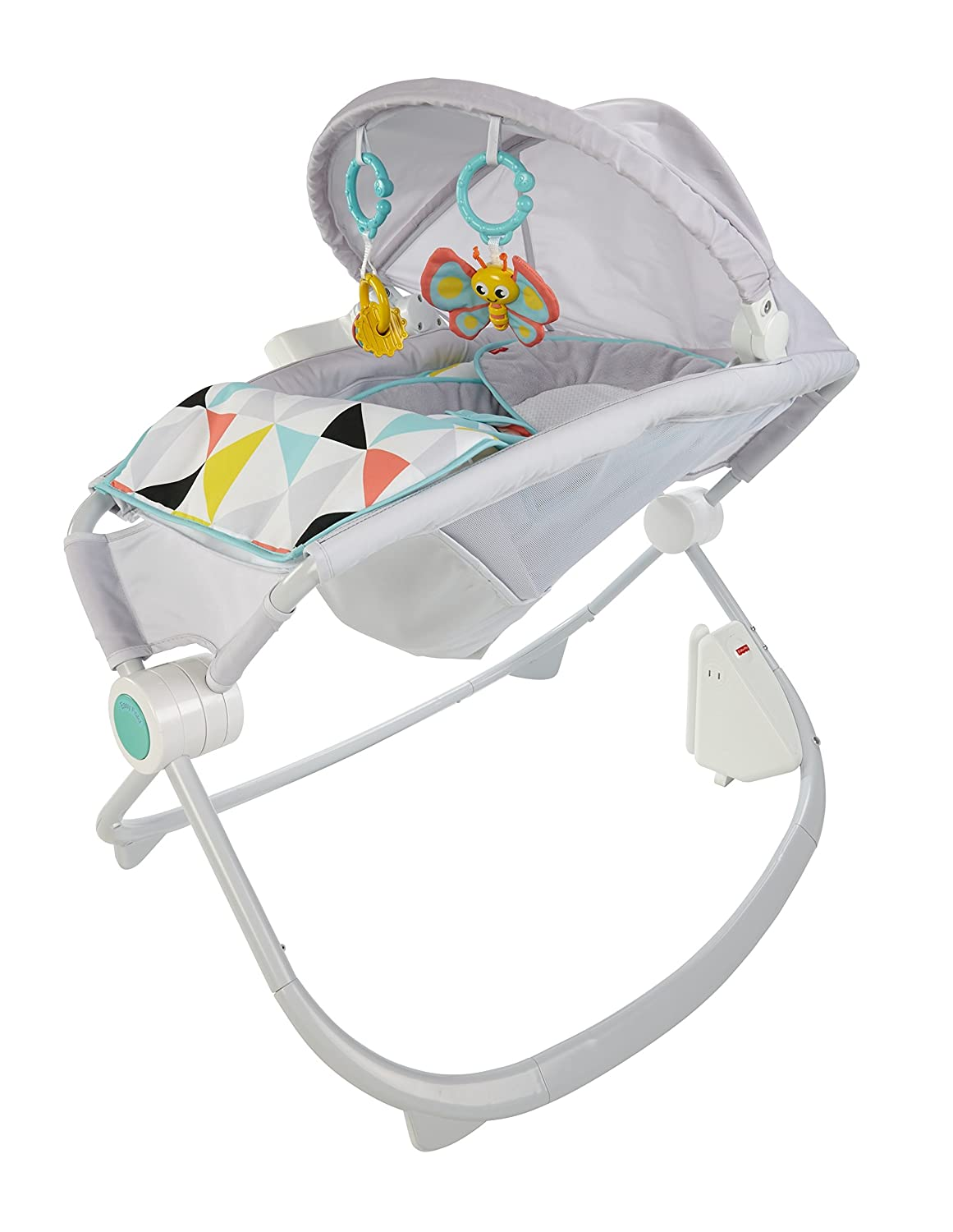 Fisher-Price Premium Auto Rock 'n Play Soothing Seat with SmartConnect FWK51