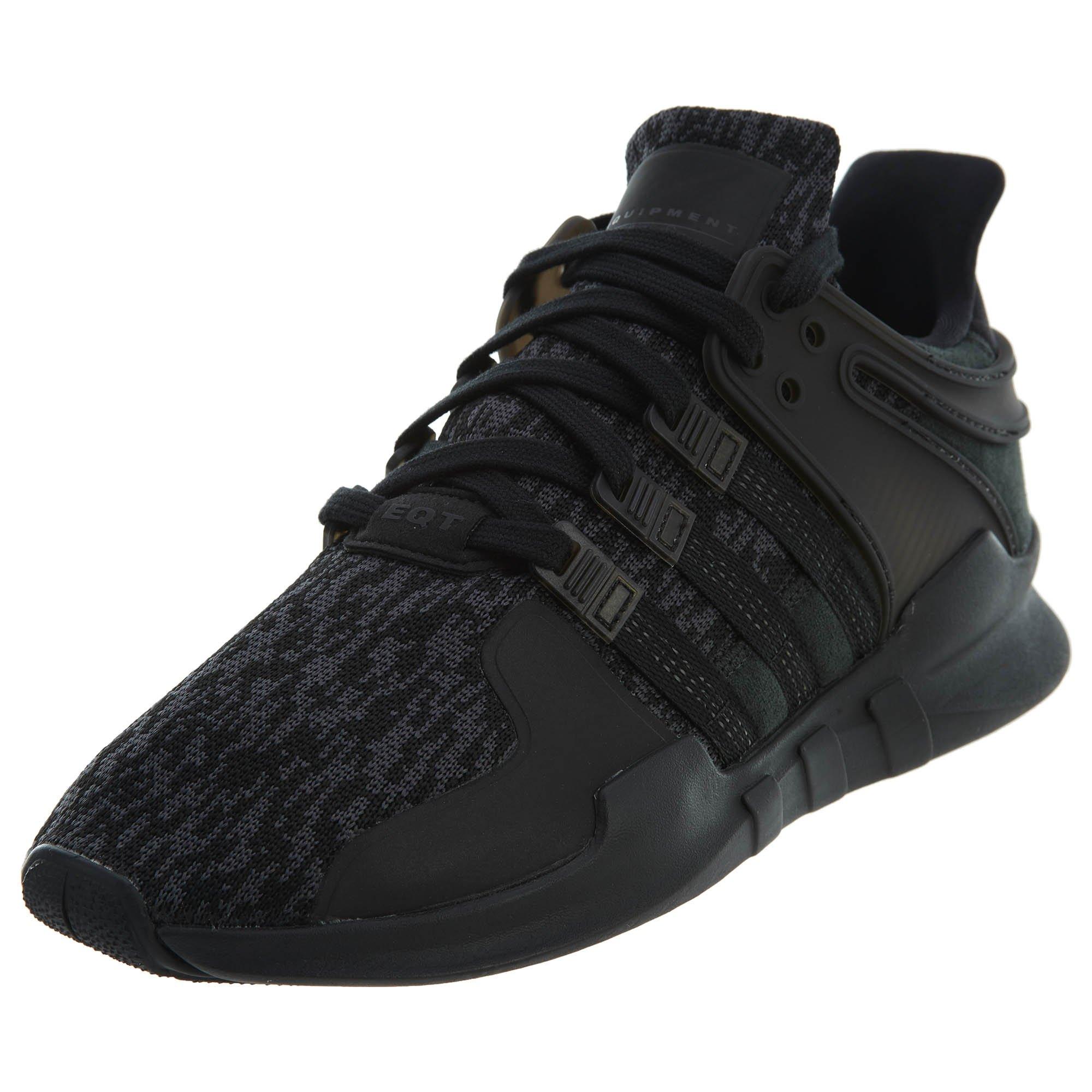 new styles a0cc7 5bdc8 Galleon - Adidas Originals Men s EQT Support ADV Core Black Sub Green 9.5 D  US