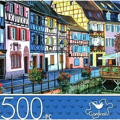 Colmar, France - 500 Piece Jigsaw Puzzle: Toys & Games