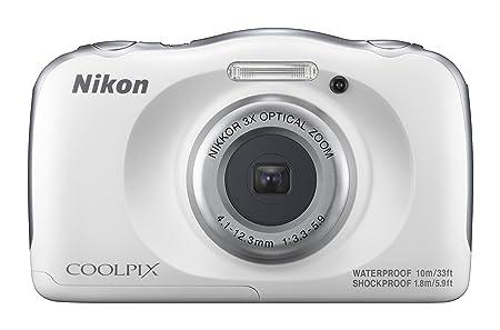 Nikon Coolpix W100 Camera (White) Point & Shoot Digital Cameras at amazon