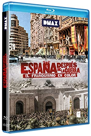 España Después De La Guerra El Franquismo En Color Blu Ray Amazon Es Documental Francesc Escribanoy Luis Documental Cine Y Series Tv