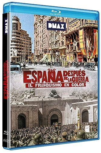 España después de la guerra. El franquismo en color Blu-ray: Amazon.es: Documental, Francesc Escribanoy Luis, Documental: Cine y Series TV