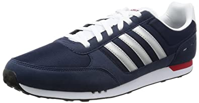 adidas Men's Neo City Racer Low Top Sneakers, Blue (ConavyMsilve