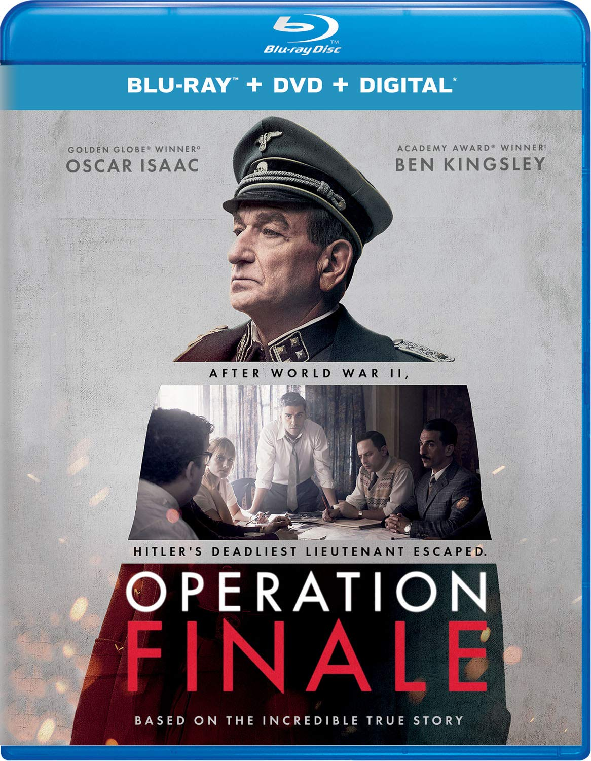 Blu-ray : Operation Finale (With DVD, 2 Pack, Digital Copy)