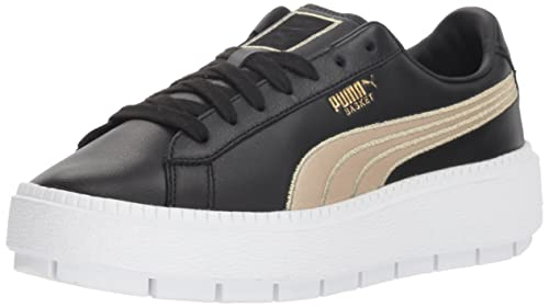 c8609b0bb7d6 Puma Women s Platform Trace Sneaker  Amazon.co.uk  Shoes   Bags