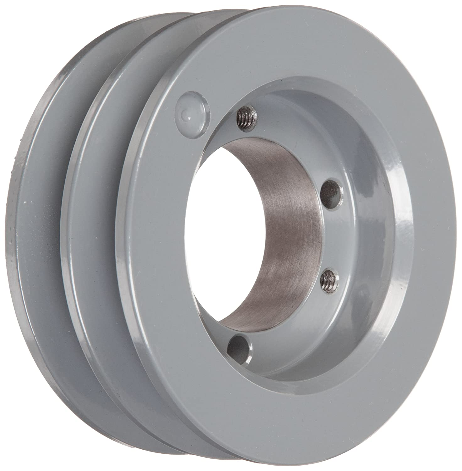 TB Woods 562B Classical V Belt Sheave B Belt Section 2 Grooves SDS Bushing required Cast Iron 5.95 OD