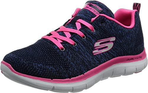 Skechers Flex Appeal 2 High Energy, Baskets Basses Femme