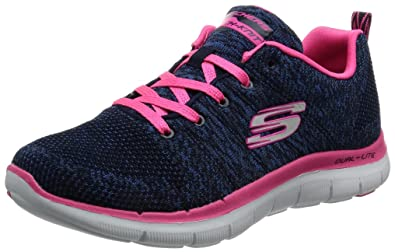 Skechers Damen Sneaker blau Flex Appeal 2.0 HIGH Energy von
