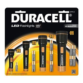 Lampes Lot De À 4 Familial Ensemble Duracell Piles D'urgence Pack Torche Lampe Led roshtdBCxQ