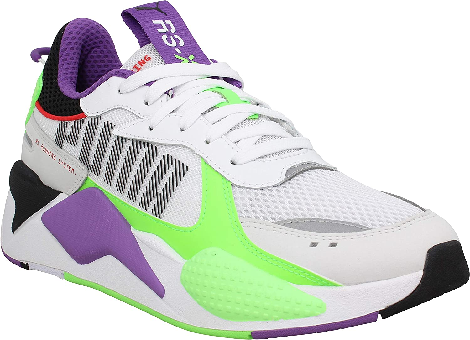 PUMA Womens Womens RS-X Bold Trainers in White Green - UK ...
