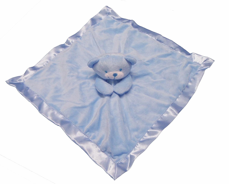 Gorgeous Niñas–terciopelo de peluche oso de peluche bebé colcha/manta... rosa rosa Baby Best Buys STBC21 (EA) 192