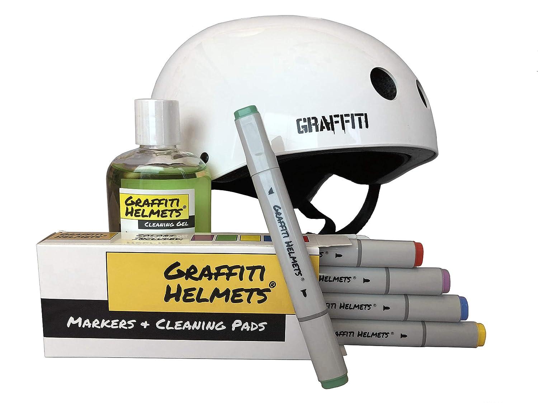 Graffiti Helmets Bike Helmet and Skateboard Helmet