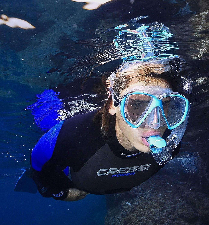 Unisex Combo Set M/áscara y Snorkel Cressi Ranger /& Tao