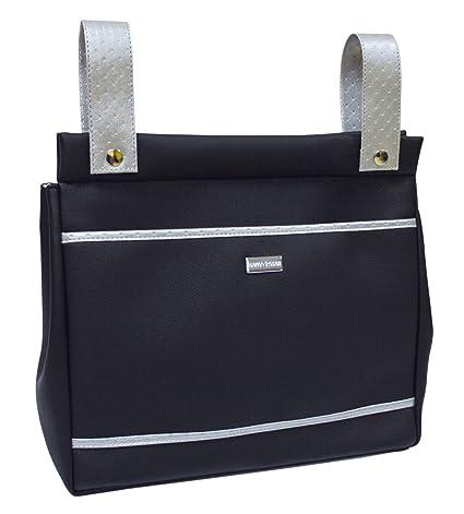 Baby Star M10-2466 - Bolso panera para silla universal, color negro ...
