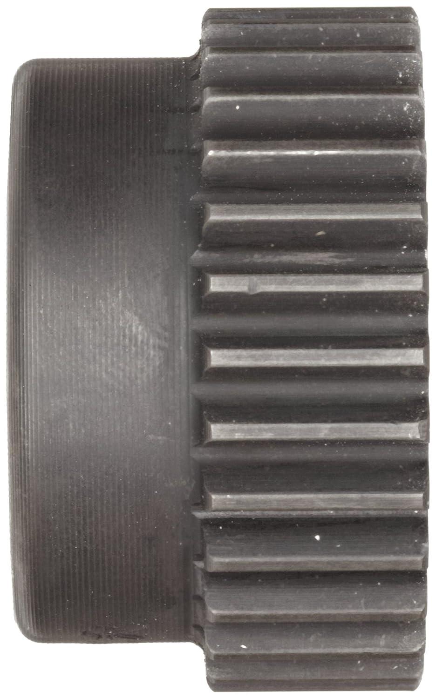 25 mm Hub Diameter 17 mm Tooth Face Width, 1.5 Metric Module Tooth Profile 20 Degree Pressure Angle 10-12 +//-1mm Pilot Bore 39 mm Outside Diameter M1.5B24 Ametric/® Metric Minimum Plain Bore Steel Spur Gear with Hub 24 Teeth Mfg Code 1-025