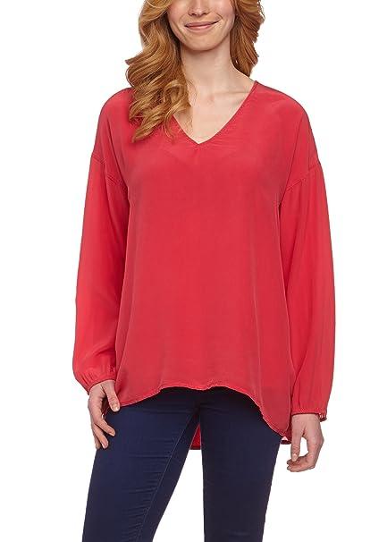 Compagnia Italiana - Blusa de manga larga para mujer, talla 40, color rojo (