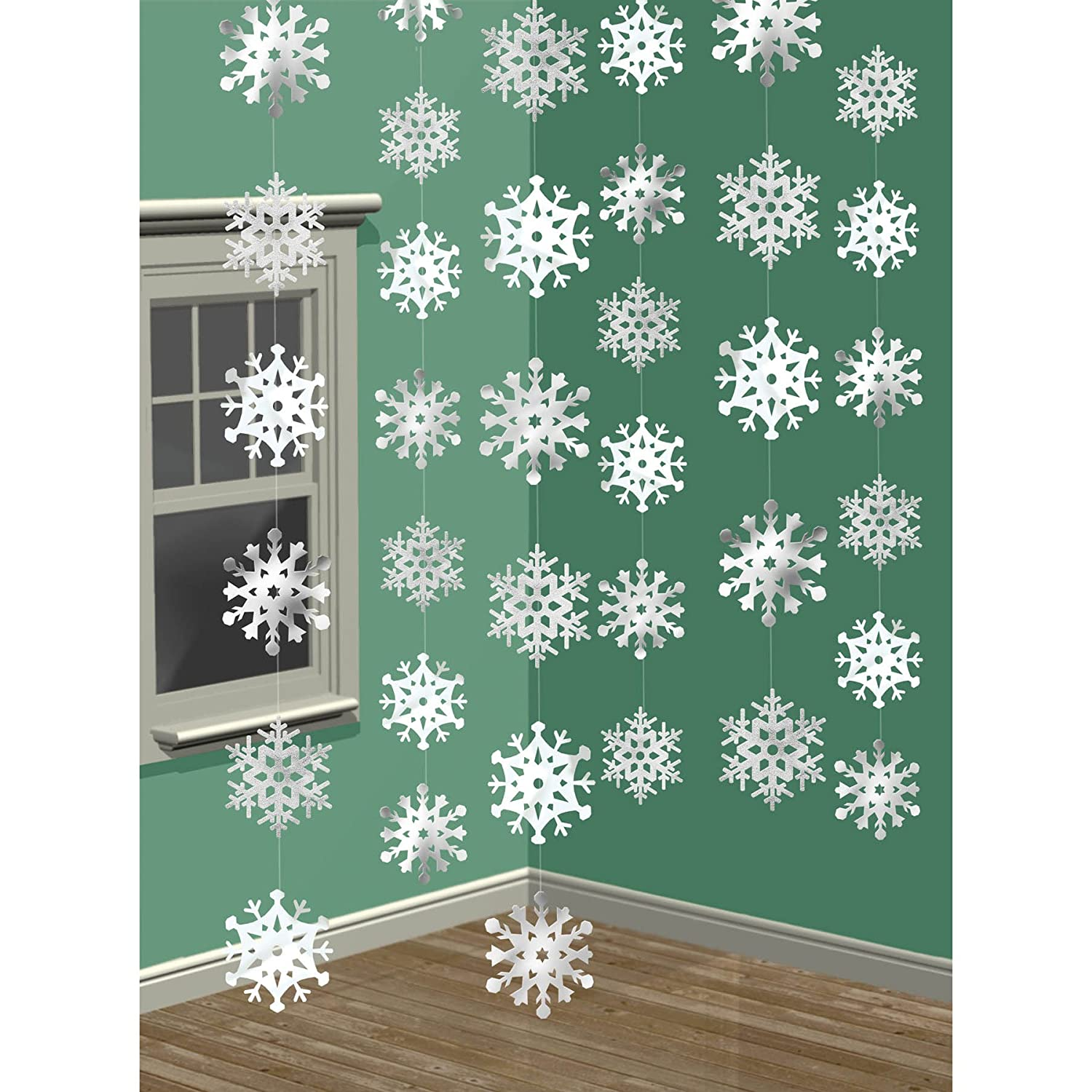glitter for styrofoam of cob craft decor set foam products white snowflake large decorations snowflakes window