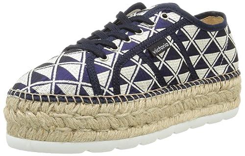 Victoria Basket Geometrico Plataforma Yute - Zapatillas de Deporte Unisex Adulto: Amazon.es: Zapatos y complementos